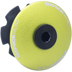 "Sixpack Menace Aheadcap 1 1/8"", electric green"